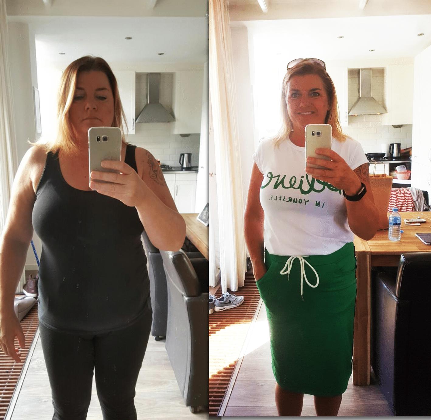 ervaringen maagband Hypnotherapie Heemskerk brenda peters verloor 15 kilo